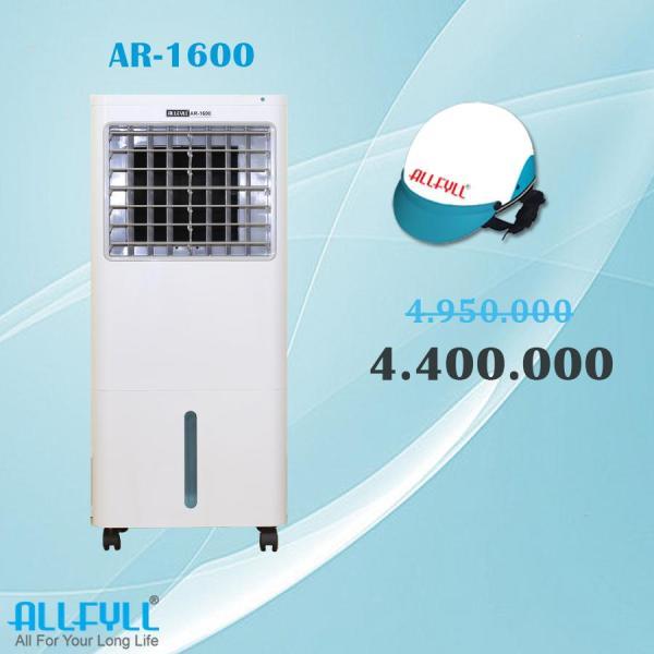 Bảng giá Máy làm mát Allfyll Thái Lan AR-1600 + Tặng nón bảo hiểm cao cấp