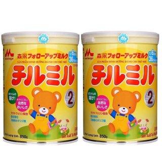 Sữa bột Morinaga số 2 - 850g (6-36 tháng) (Lon) Có Đai Đổi Quà thumbnail