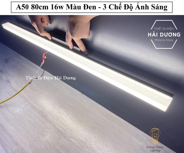 Bảng giá Đèn Soi Tranh- Đèn Rọi Gương Led Model A50 80cm 16w - 3 Chế Độ Ánh Sáng - Bảo Hành 1 Năm