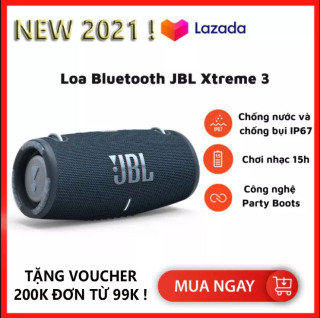 Loa Bluetooth JBL Xtreme 3 - Loa Nghe Nhạc, Karaoke Công Suất Lớn - Loa Bass Mạnh, Treble Rời - Tương Thích Với Máy Tính, Vi Tính, LapTop, PC - Chống Nước, Chống Bụi IP67 - Thời Gian Chơi Nhạc Lên Tới 15h,Mầu Sắc Đa Dạng -BH 1 Năm thumbnail