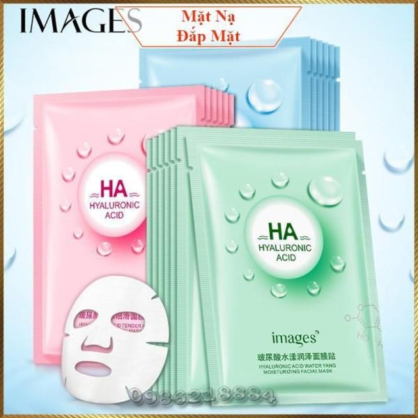 Mặt nạ giấy HA Images Bioaqua dưỡng trắng da mụn cấp ẩm thải độc HAI3