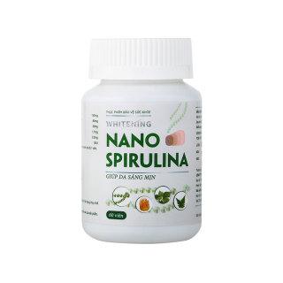 WHITENING NANO SPIRULINA - Viên uống hỗ trợ trắng da an toàn từ các thành phần tự nhiên Mediworld thumbnail