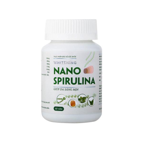 WHITENING NANO SPIRULINA - Viên uống hỗ trợ trắng da an toàn từ các thành phần tự nhiên/Mediworld