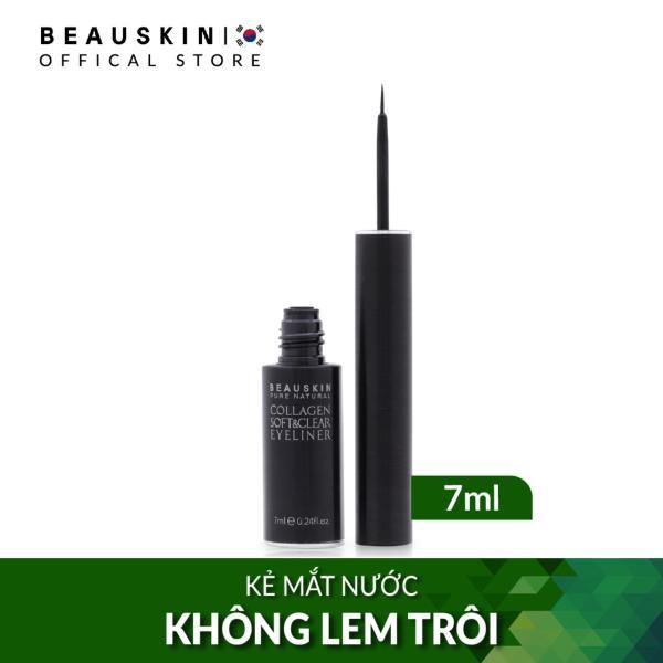 Kẻ mắt nước dưỡng mi không lem Beauskin Collagen Soft & Clear Eyeliner (Đen) tốt nhất