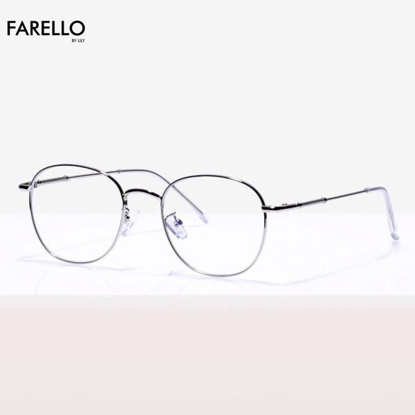 Mua Gọng kính cận FARELLO chất liệu kim loại phụ kiện thời trang nam nữ 28107 nhiều màu