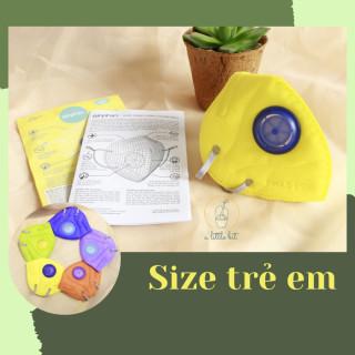 Khẩu trang Airphin lọc bụi mịn PM 2.5 dành cho trẻ em thumbnail
