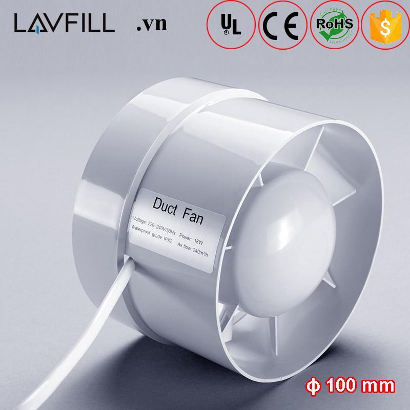 Quạt thông gió đường ống LAVFILL LFI-09S; LFI-11S; LFI-13S