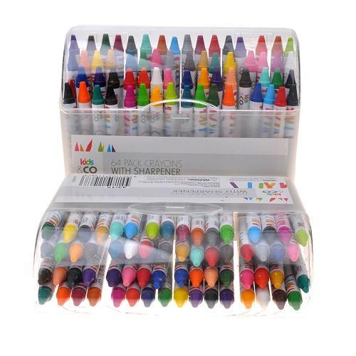 Mua Hộp 64 bút tô màu chi tiếc cho bé,quà tặng cho bé cao cấp