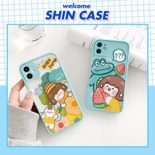 Ốp lưng iphone Roro Bee bảo vệ camera dành cho iphone 6 6S 6Plus 6SPlus 7 7Plus 8 8Plus X XS XR XSmax 11 11PRO 11Promax - ShinCase v35 thumbnail
