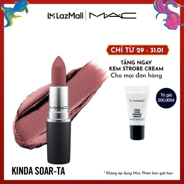 Son môi MAC Powder Kiss Lipstick 3g giá rẻ