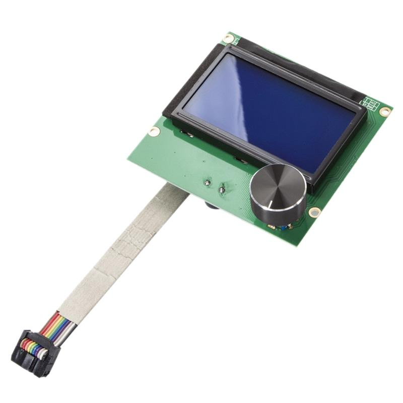Giá New 1.4 3D Printer Screen Display 12864 Lcd Ender-3 Ramps Screen + Cable For Creality Ender-3 3D Printer