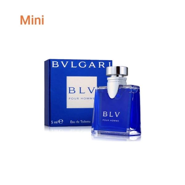 Nước hoa mini nam Bvlgari BLV pour homme 5ml