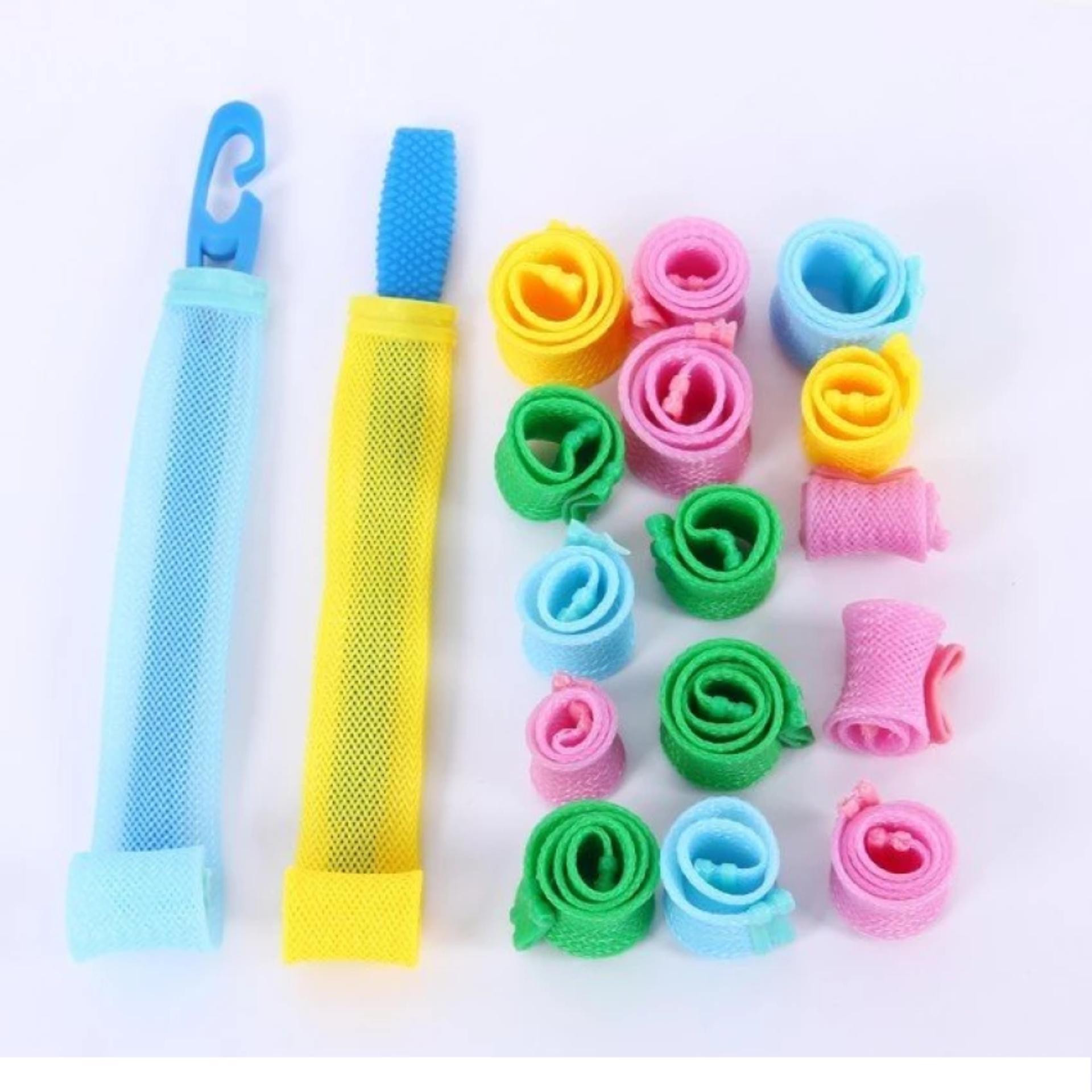 Bộ tạo kiểu tóc xoăn ốc sên 18 ống