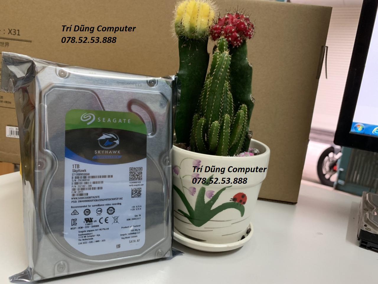 Ổ Cứng HDD 1TB ( 1000GB) Seagate  Máy Tính để Bàn, Bảo Hành 24 Tháng Lỗi 1 đổi 1 Khuyến Mại Hot