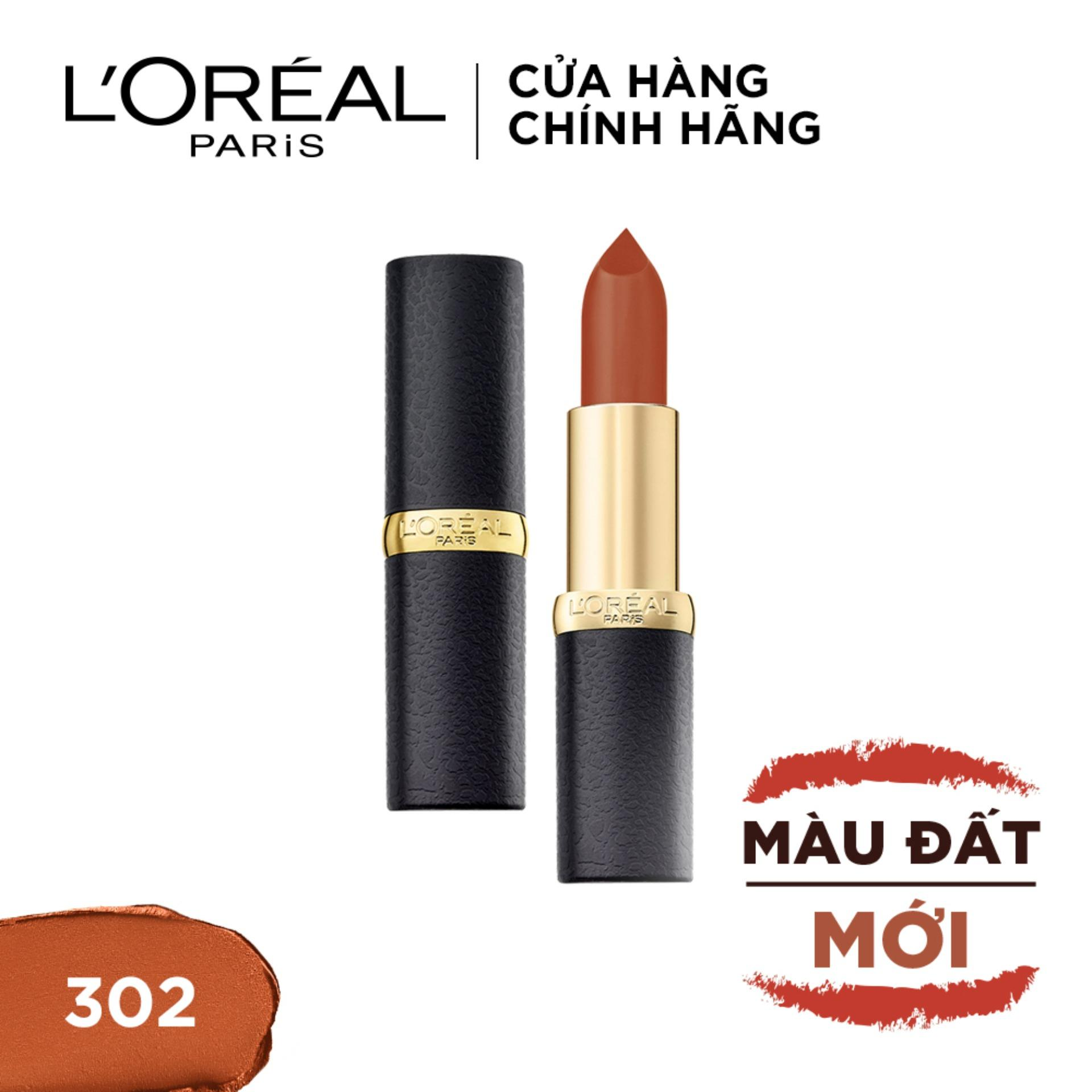 Son lì mịn môi LOreal Paris Color Riche Matte Earth On Fire 3.7g