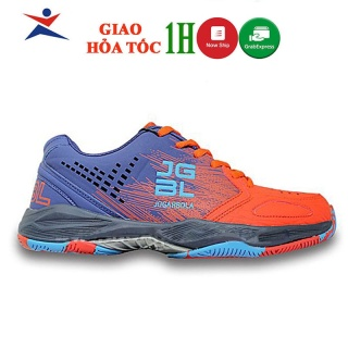 Giày tennis mẫu mới Giày JOGARBOLA dành cho nam giày thể thao nam siêu bền màu cam thumbnail