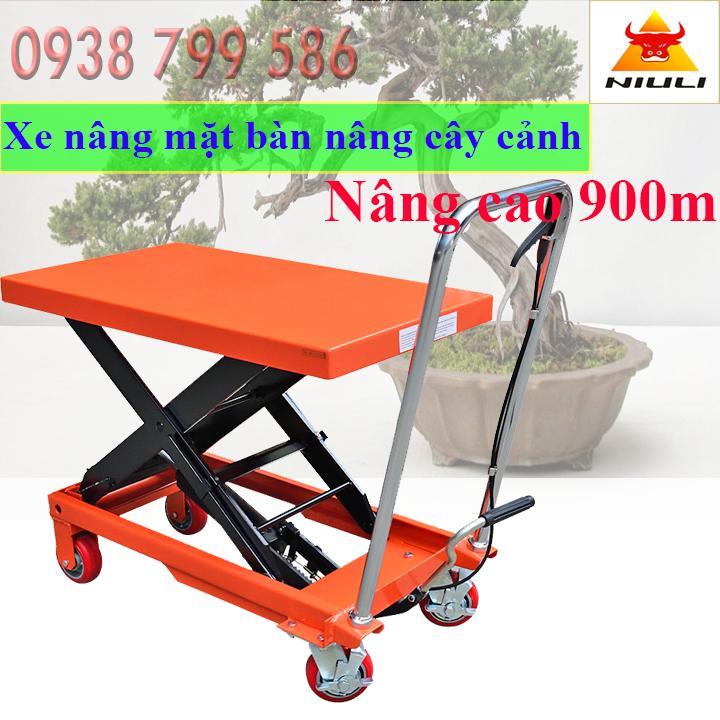 Xe nâng đẩy cây cảnh 300kg Niuli