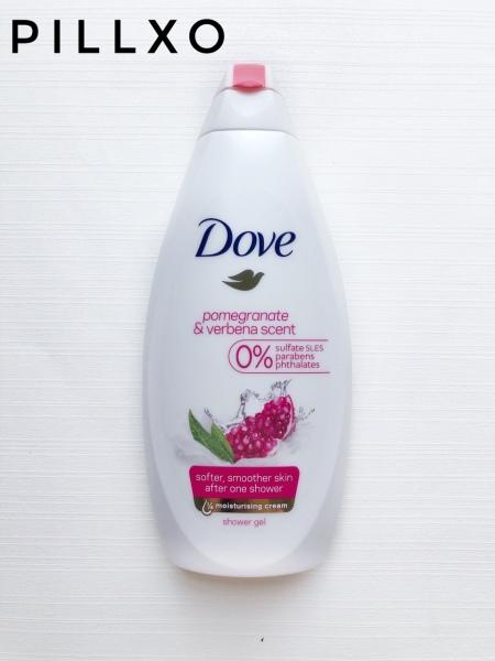 Sữa tắm DOVE Go Fresh Pomegranate & Lemon Verbena Scent Shower Gel - 500ml - Lựu đỏ giá rẻ