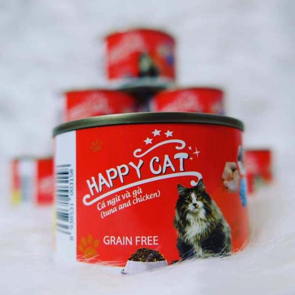 Pate mèo happy cat (160g)