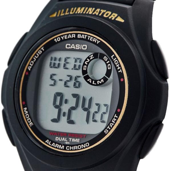 Đồng hồ điện tử nam nữ Casio F200W, pin 10 năm, chống nước bền bĩ, mã 02