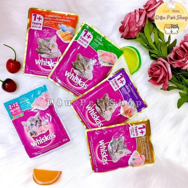 Pate whiskas cho mèo đủ vị, cam kết hàng đúng mô tả, chất lượng đảm bảo an toàn đến sức khỏe cho thú nuôi