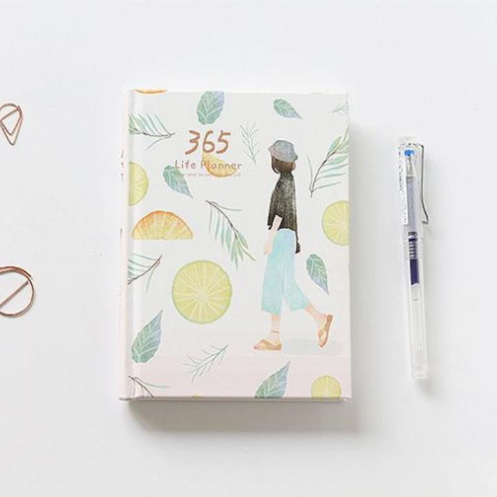 Mua Sổ tay lên kế hoạch và quản lí thời gian cho 365 ngày, bìa phong cách Nhật Bản dễ thương, phù hợp cho học sinh, sinh viên, nhân viên văn phòng