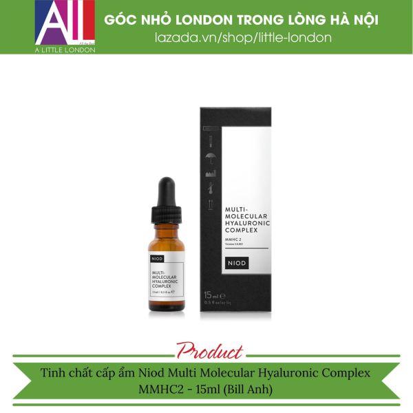 Tinh chất cấp ẩm Niod Multi Molecular Hyaluronic Complex MMHC2 - 15ml (Bill Anh)