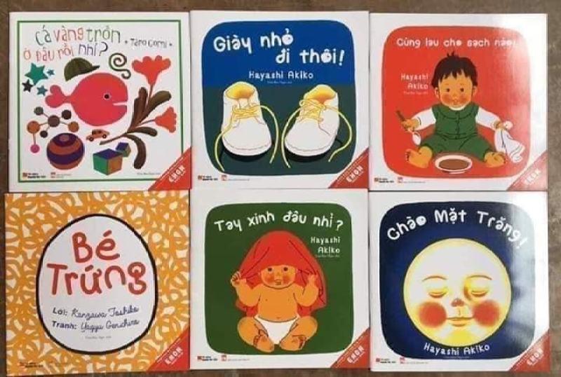 Mua Ehon Nhật Bản - Giờ chơi của bé (Bộ 6 cuốn)