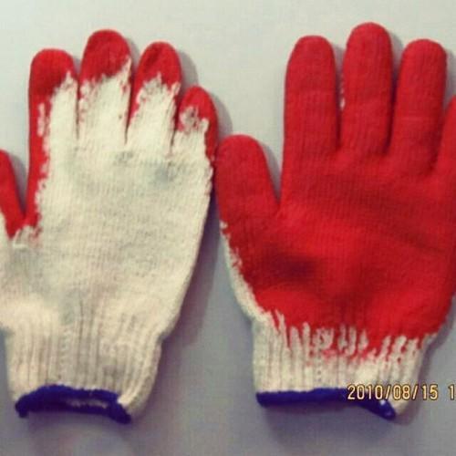 Combo 100 đôi găng tay bảo hộ sợi phủ nhựa