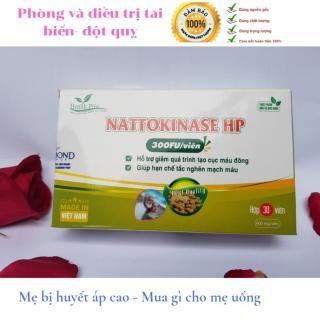 Nattokinase HP- viên uống hỗ trợ điều trị tai biến mạch máu nào, nhồi máu cơ tim, tan cục máu đông, hoa mất, chóng mặt, mất ngủ, thần kinh suy nhược, nguồn gốc tự nhiên, an toàn đậu tương lên men- HPNTK001 atcare thumbnail