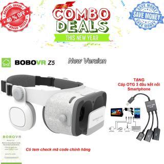 Có Tem Xác Thực - Kính thực tế ảo 3D Bo.bo VR Z5 - Phiên bản nâng cấp toàn diện, bản nâng cấp Kính thực tế ảo thông minh thế hệ 2 BOBOVR Z5, Kính thực tế ảo VR BOX 3D phiên bản mớiKính thực tế ảo 3D BOBOVR Z5 - Công ty nhập khẩu và phân phối thumbnail