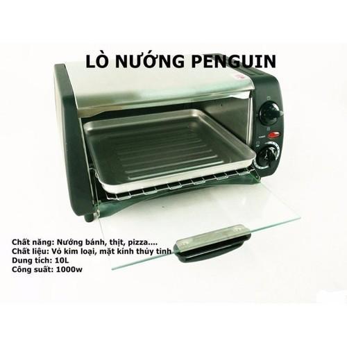 lò nướng penguin 10L