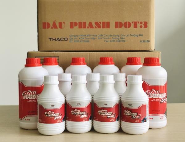 [CHÍNH HÃNG] DẦU PHANH, DẦU THẮNG DOT3 THACO (0.5L)