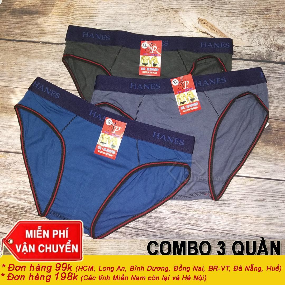 COMBO 3 Quần Lót Nam - Quần Lót Tam giác SV.01B