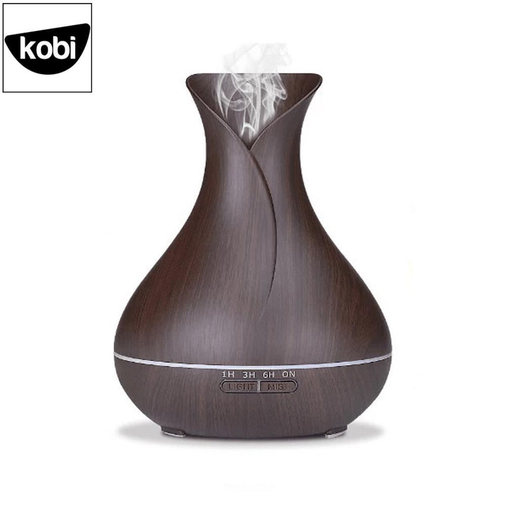 Máy khuếch tán tinh dầu Tulip Kobi sóng siêu âm cao cấp, giúp phun sương, tạo ẩm, làm thơm phòng ngủ, phòng khách, dung tích 500ml