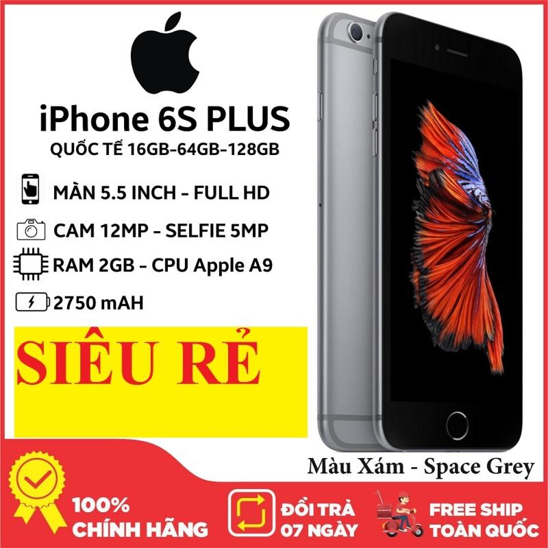 Điện thoại giá rẻAple IPHONE6S PLUS - 64GB - FULLBOX - Bảo hành 12 tháng