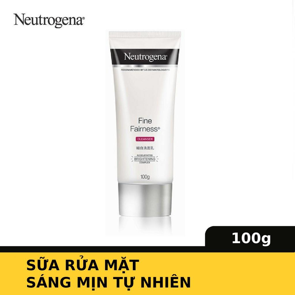 Sữa rửa mặt Neutrogena sáng mịn tự nhiên 100g cao cấp