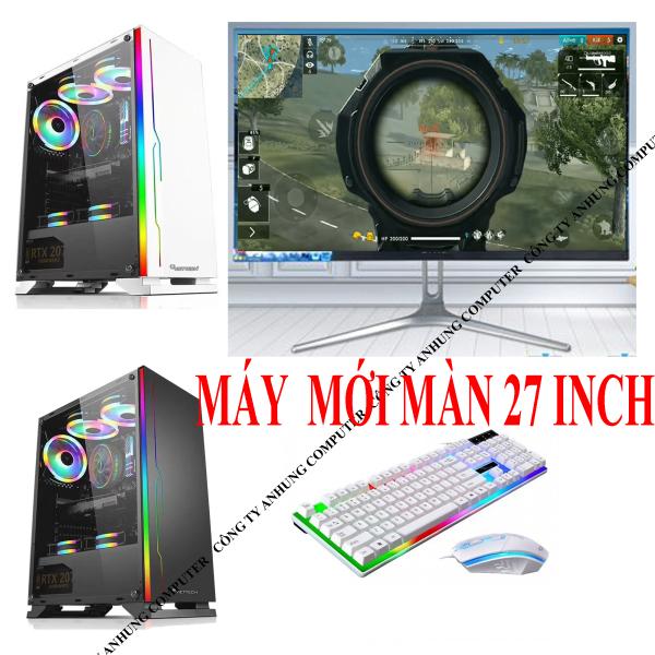 Bảng giá [MÁY MỚI] Bộ máy tính chơi game pc i3 9100f màn 27 inch MỚI 100% công nghệ mới nhất cho hiệu năng cực cao Phong Vũ