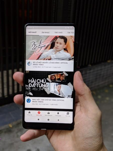 Điện thoại Xiaomi Mi Mix 2 - Bản đặc biệt 128GB, Ram 6GB, chip Snap835