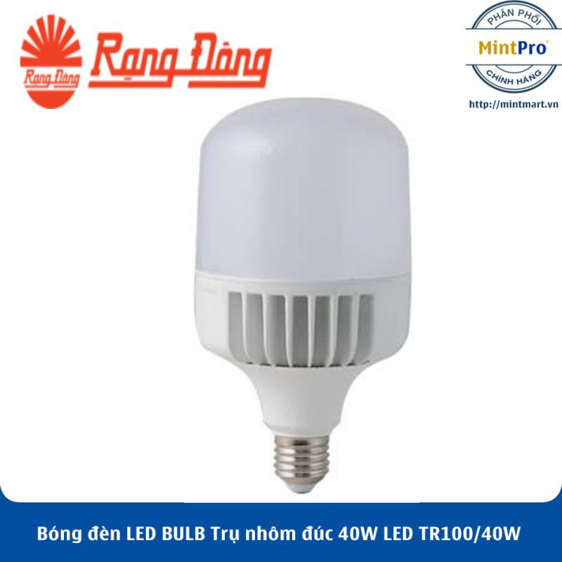 Bóng đèn LED BULB Trụ nhôm đúc 40W LED TR100/40W Rạng Đông - Hàng Chính Hãng