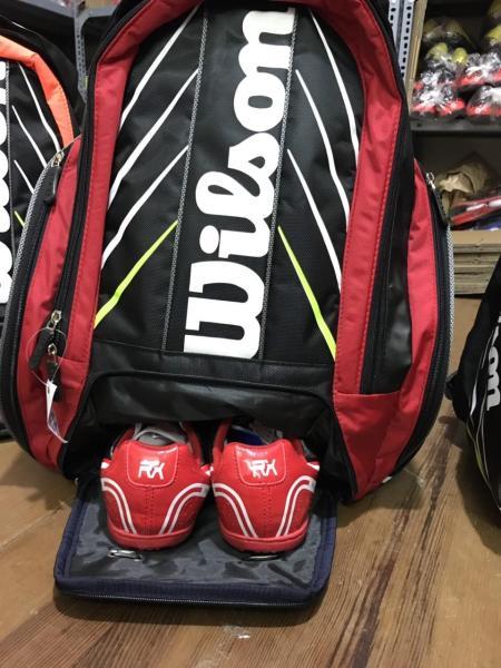 Bảng giá Balo Đựng Vợt Tennis Wilson Việt Nam Chất Lượng Cao