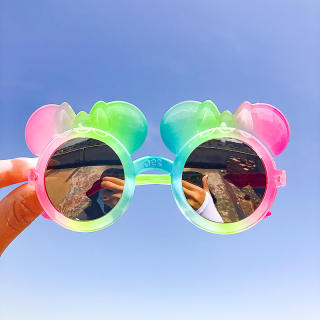 Kính Râm Trẻ Em Dễ Thương UV400 Kem Chống Nắng Kính Mắt Phân Cực Bé Trai Bé Gái Đồ Chơi Hoạt Hình