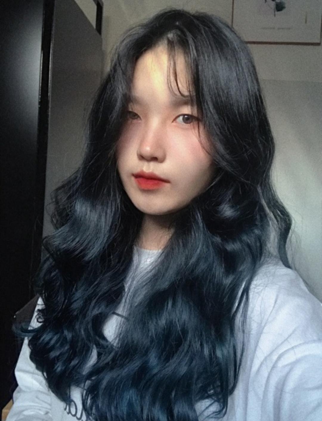 Thuốc nhuộm tóc CHIKO màu xanh đen(không tẩy) tặng kèm trợ dưỡng 100ml