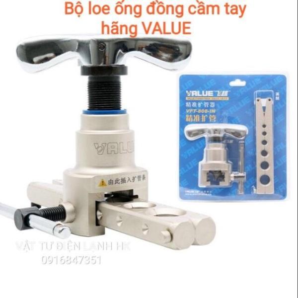 Bộ loe ống đồng cầm tay Value Loe lệch tâm ống đồng Value