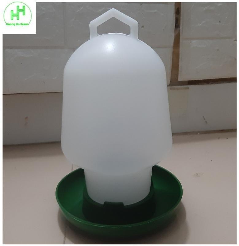 1 Bình Đựng Nước Cho Gia Cầm (Chim, Gà, Ngan, Ngỗng, Vịt, ....) Dung Tích: 2L - Máng uống nước Bình Thuận 2 lít