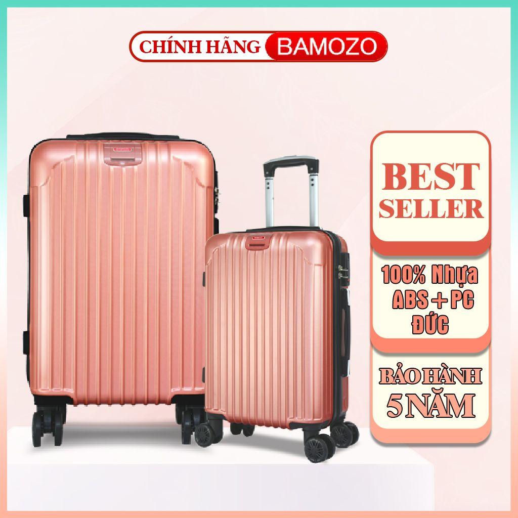vali kéo du lịch 20inch 24inch  Bamozo 8801 - Vali nữ thời trang, chống va đập