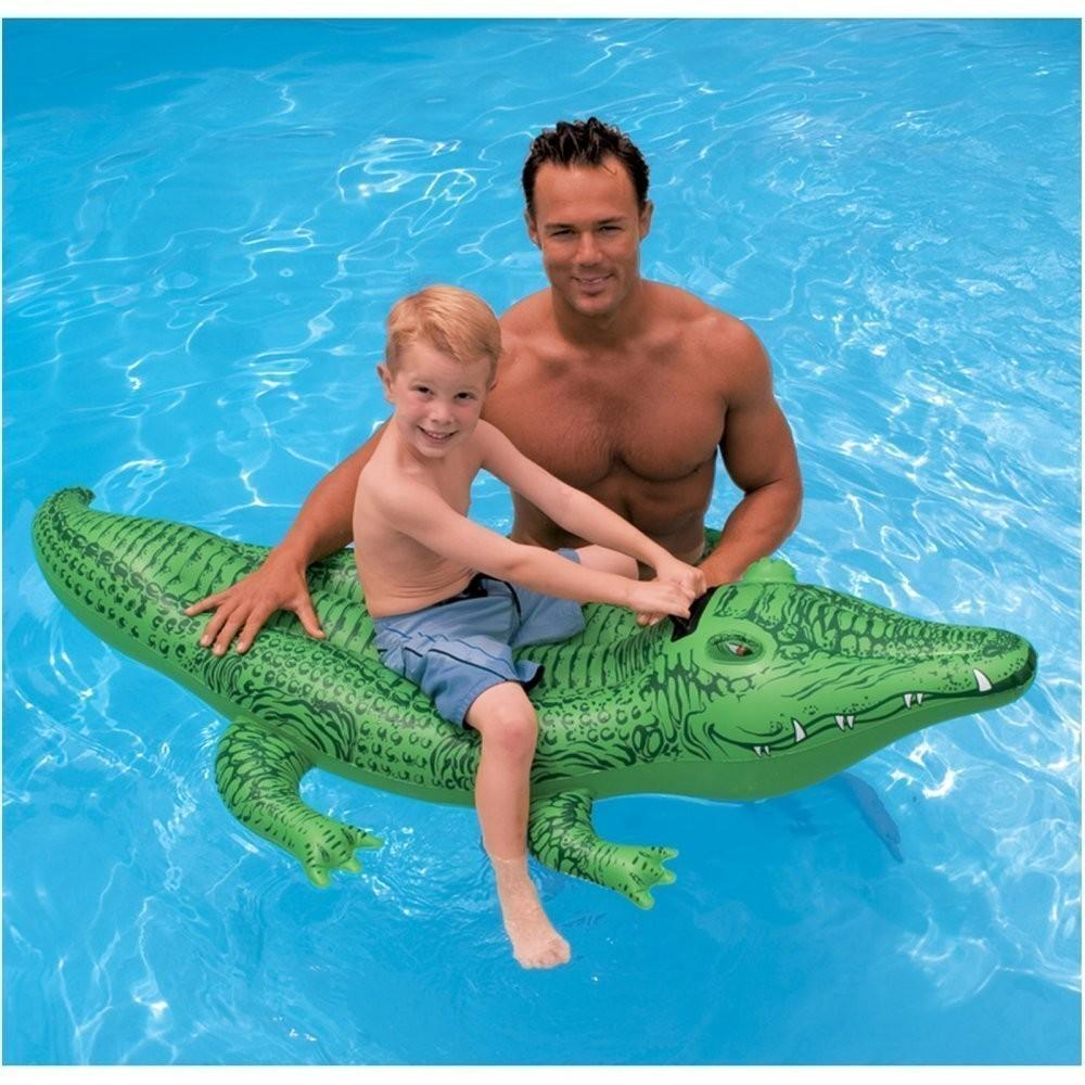 Phao Bơi Hình Cá Sấu Intex 58546 Giảm Cực Khủng