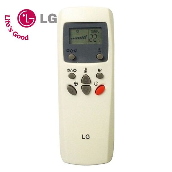 Điều khiển điều hòa máy lạnh LG (loại 8 nút).