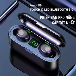 Tai Nghe Bluetooth AMOI F9 Phiên Bản Pro Quốc Tế Nút CẢM ỨNG Bluetooth 5.0 Kén Sạc 2000Mah Âm Thanh Sắc Nét - Tai Nghe Bluetooth Không Dây Amoi F9 Pin Trâu - Tai Nghe Buetooth thumbnail