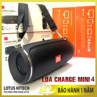 [BASS MẠNH] Loa Bluetooth Charge Mini 4+, loa JBL Mini 4 cao cấp, âm thanh sống động, pin trâu, chơi đươc qua bluetooth, thẻ nhớ, cáp thumbnail